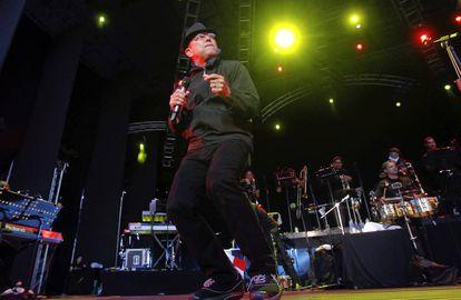 Rubén Blades, en una actuación en 2011 en Madrid.