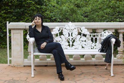 La escritora Chantal Maillard, en Málaga, en mayo pasado.