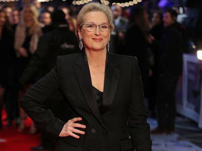 Meryl Streep, en el estreno de 'Los papeles del Pentágono' el pasado día 10 en Londres.