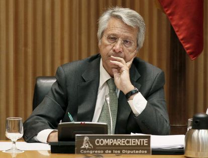 El expresidente de Novacaixagalicia, Julio Fernández Gayoso