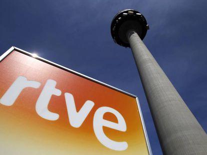 Sede los informativos de TVE en Torrespaña.