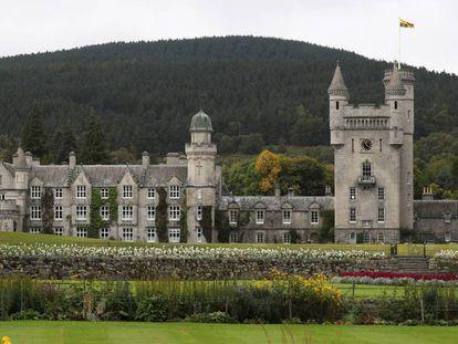 El castillo de Balmoral, fotografiado en septiembre de 2017.