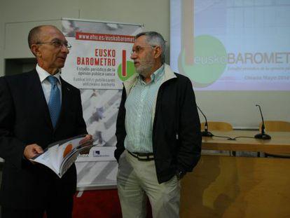 Carmelo Garitaonaindia, a la izquierda, y Francisco Llera.