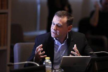 Luis Alfonso Henar. Director de mantenimiento de Talgo