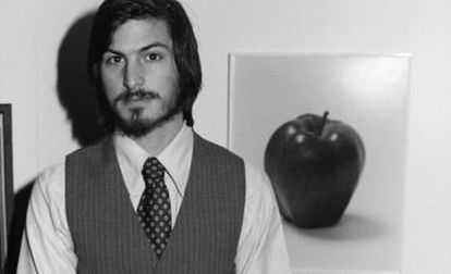 Steve Jobs, cofundador de Apple, en 1977.