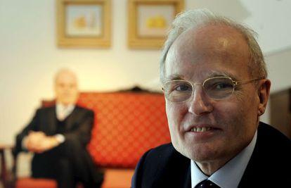 El editor Jaume Vallcorba, en una imagen de mayo de 2010.