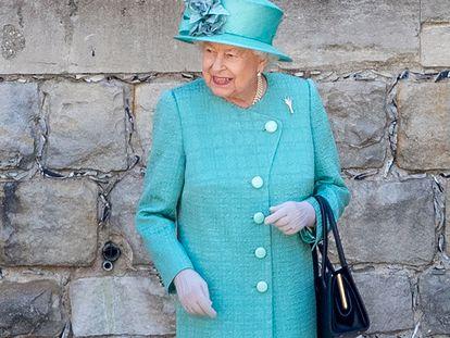 Isabel II, en Windsor, el pasado mes de junio.