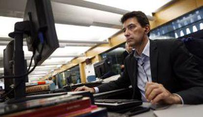 Rafael Doménech, en un momento de la entrevista digital.