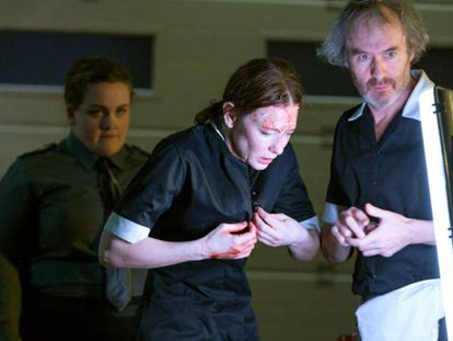 Cate Blanchett y Stephen Dillane, en 'When We Have Sufficiently Tortured Each Other'.