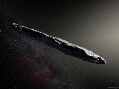 El primer asteroide del espacio interestelar pasó junto a la Tierra y se marchó del Sistema Solar