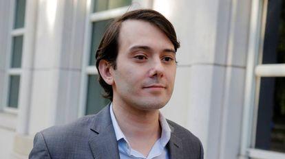 Martin Shkreli, el pasado verano al salir del tribunal en Brooklyn