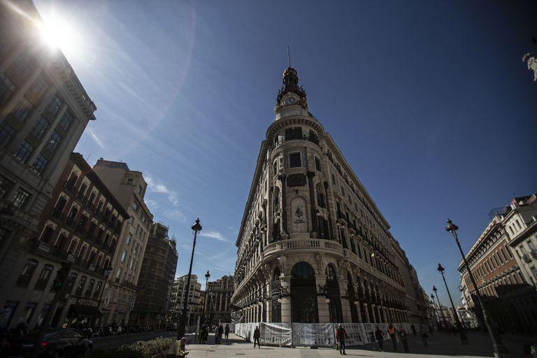 El complejo de edificios de Centro Canalejas, en una imagen de marzo de 2020.