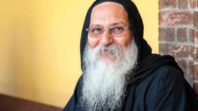 Anba Epifanio, obispo copto ortodoxo asesinado en 2018.