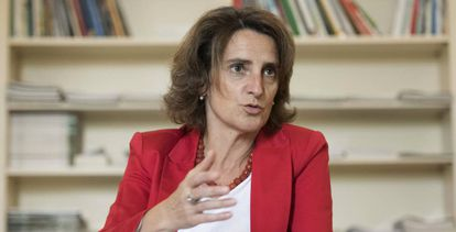 Teresa Ribera, ministra de Transición Ecológica