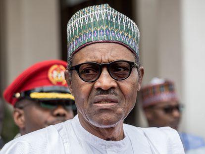 El presidente nigeriano, Muhammadu Buhari, en una foto de archivo.