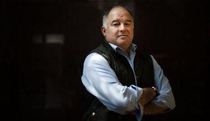 El escritor y periodista Héctor de Mauleón en entrevista para El País