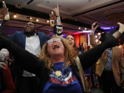 La ola de enfado contra el presidente cala en las urnas, pero los republicanos mantienen el control del Senado