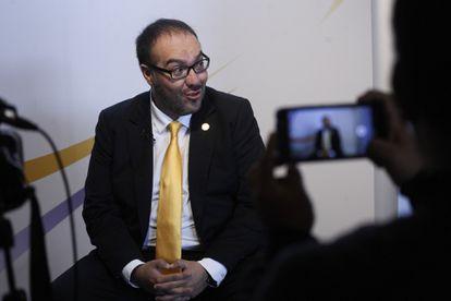 Maurcio Toledo, diputado federal acusado de enriquecimiento ilícito.