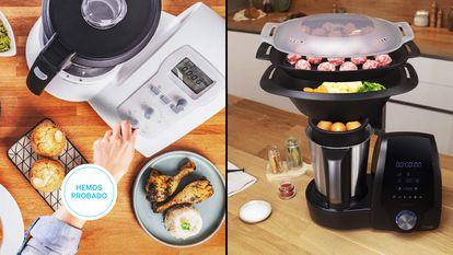 Ponemos a prueba los mejores robots de cocina baratos y de grandes marcas, disponibles en Amazon, por menos de 350 euros.