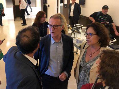 El ministro José Guirao visita el Festival de Sitges.