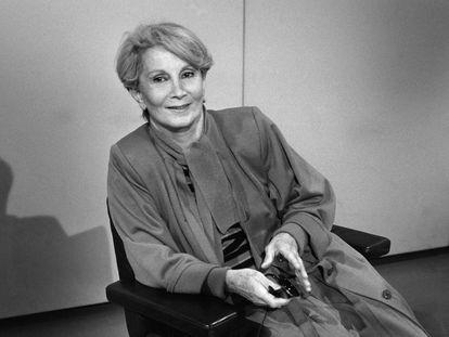 Fernande Grudet, 'Madame Claude', en una imagen de mayo de 1986.