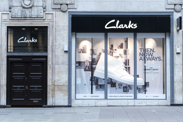 Tienda de Clarks en Oxford Street, Londres.