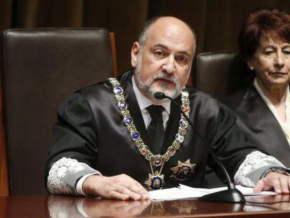 El presidente del Tribunal Constitucional (TC), Francisco Pérez de los Cobos.