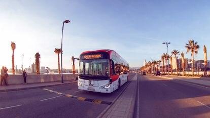 El autobús del proyecto AutoMost ha circulado durante 21 días por Málaga en condiciones de tráfico real y con viajeros.