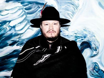Fotografía de archivo del cantante y compositor mexicano Leonel García.