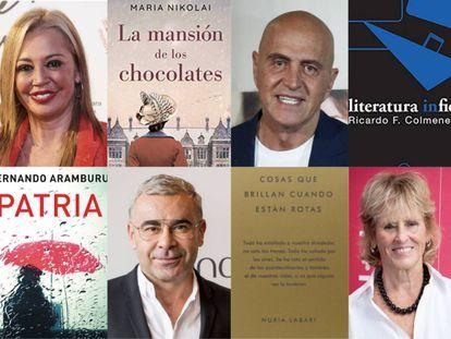 Algunos de los rostros televisivos que han elevado las ventas de obras literarias gracias a hablar de ellas en programas de máxima audiencia.