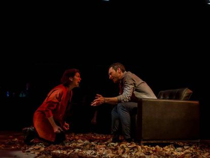 Laia Marull y Pablo Derqui, en una escena de la obra.