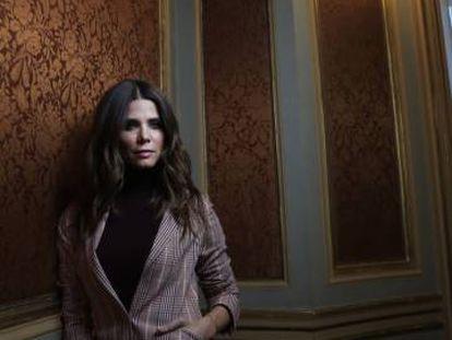La actriz colombiana Juana Acosta en Casa de América, el 23 de octubre en Madrid.