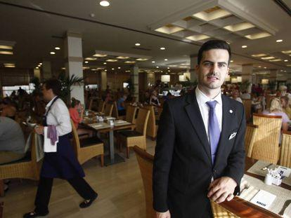 Jonatan Iglesias, en el Hotel H10 Salauris Palace de Salou.