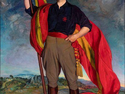 Retrato de Franco, por Ignacio Zuloaga (1940).