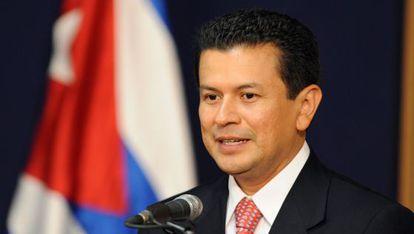 El secretario general del SICA, Hugo Martínez.