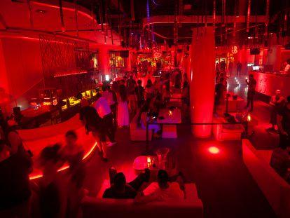 La discoteca Pacha, con gente en su interior, a finales del pasado mes de junio.