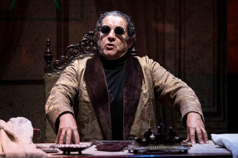 El actor Pedro Casablanc en la obra 'Torquemada', en Madrid el 17 de diciembre pasado.