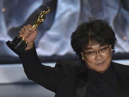 El  thriller  de Bong Joon-ho es la primera película en lengua no inglesa que gana el premio principal y marca un antes y un después en el proceso de globalización de los galardones