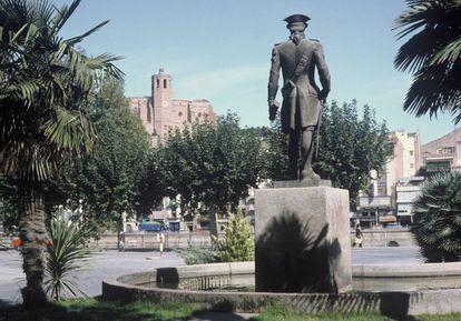 Estatua de Gaspar de Portolá, en Balaguer (Lleida).