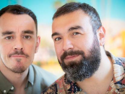 Alberto Casado y Roberto Bodegas, el dúo Pantomima Full.