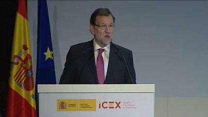"Rajoy: ""La crisis ya es historia"""