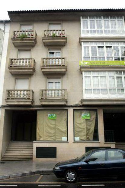 Inmobiliaria San Saturnino, en Cambados, investigada por su presunta vinculación con Sito Miñanco y confiscada en la última condena al narco por blanqueo de dinero.