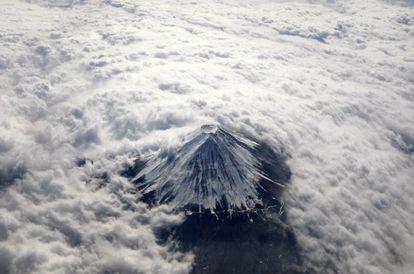 El Monte Fuji es un símbolo sagrado en Japón y Patrimonio de la Humanidad.