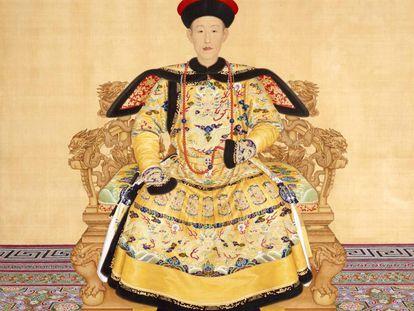 El emperador Chien-lung, de la dinastía Ching, gobernó en China desde 1735 a 1796.