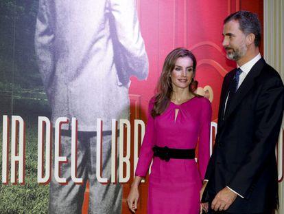 Los Príncipes de Asturias visitan el pabellón de España en Miami