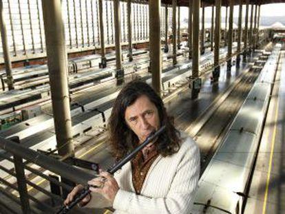 """""""Mi estilo musical se ha convertido en flamenco, pero los instrumentos proceden del jazz"""", dice Jorge Pardo."""