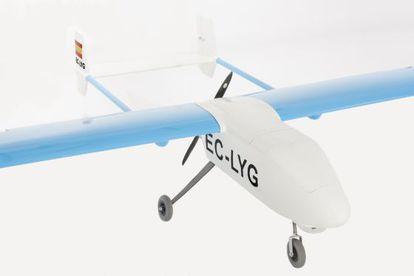 El primer 'drone' hecho y comercializado en España.