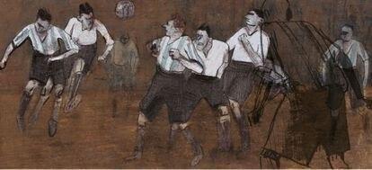 'Llamarada', de Jorge González.