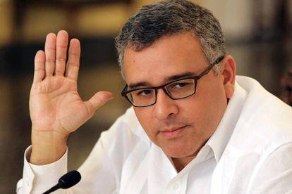 Mauricio Funes, en 2004.