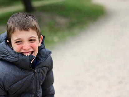 'Alvarete' tiene 12 años y padece el síndrome de los genes contiguos.